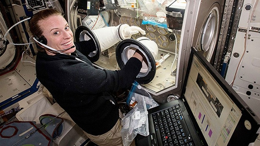 First Human to Sequence DNA in Space: Kate Rubins